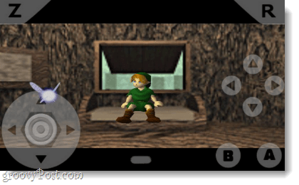 n64oid runs zelda: the ocarina of time