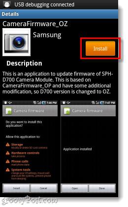samsung camera firmware update installer
