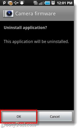 uninstall android samsung camera firmware installer