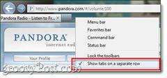 pandora as a webapp