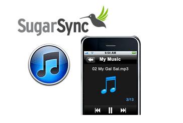 SugarSync + iTunes and iPhone