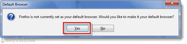 default browser confirmation window
