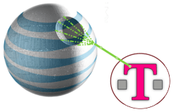 At&t set to purchase T-mobile