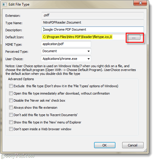 How to Change Icons Based on File Type in Windows 7