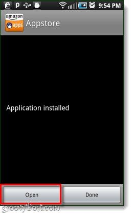 open amazon android app store