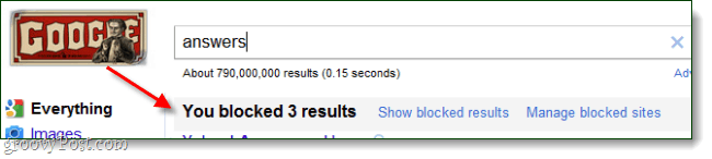 google search 3 blocked results