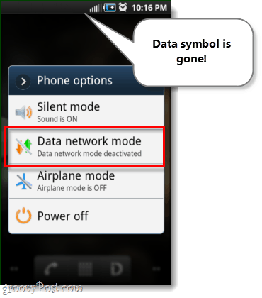 android 3g phone options disabled