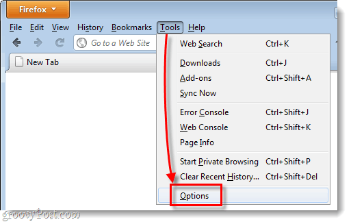 Firefox 4 legacy menu options