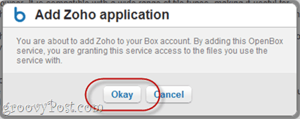 Syncing Zoho and Box.net
