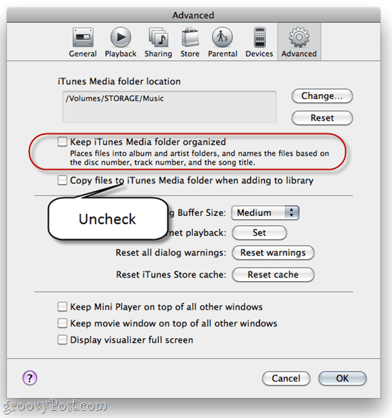 how to add folders to playlists in itunes