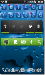 Evernote Widget Homescreen