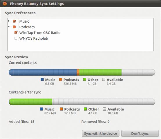 Rhythmbox and iPhone in Ubuntu