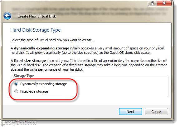 hardk disk storage type