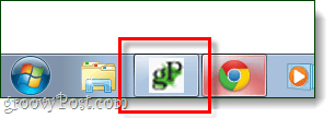 pinned to taskbar in chrome