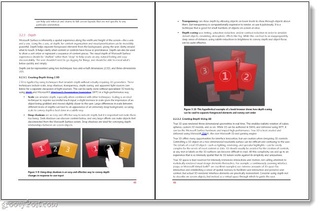 windows 8 pdf reader side-by-side