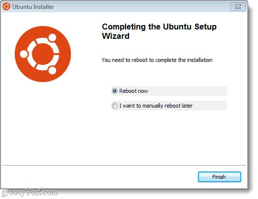 ubuntu setup complete