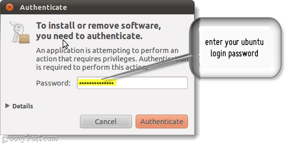 authenticate ubuntu updates