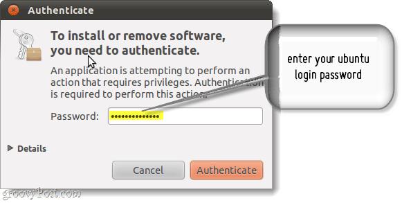 authenticate ubuntu updates