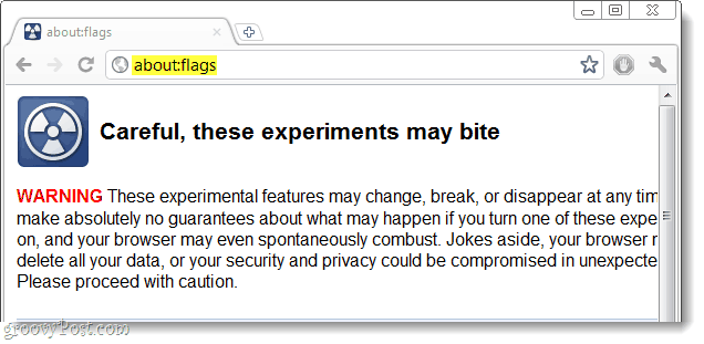 Google about:Flags
