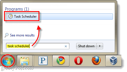 launch task scheduler in windows
