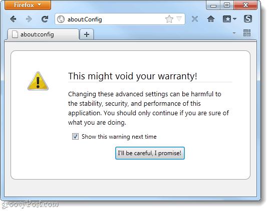 Disable Firefox 4 missing plugin warranty