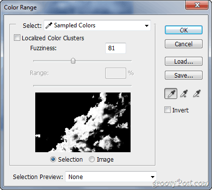 Adobe Photosho CS5 Adjust Colors Selection Tool