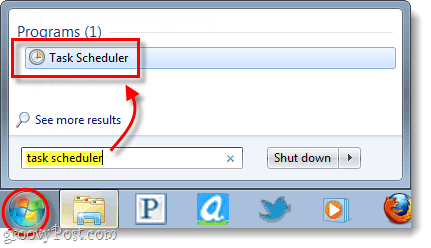 Start Windows Task Scheduler
