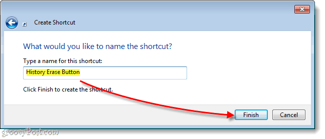 name your windows shortcut