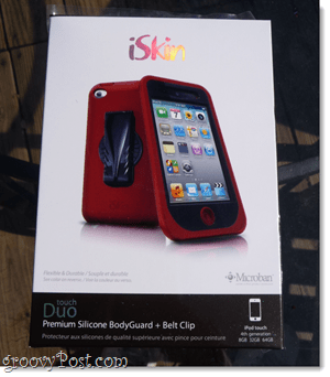 box for iskin case
