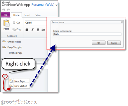 Office Live OneNote Sync