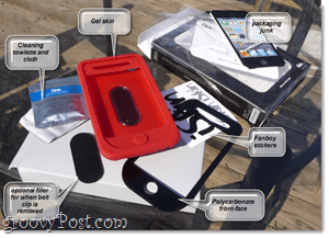 contents of iskin box