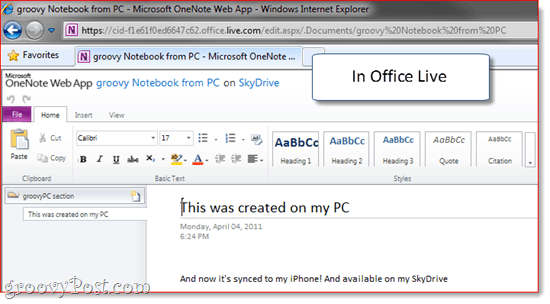 OneNote to SkyDrive Sync and Backup