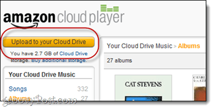 Amazon Cloud Drive Uploader