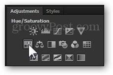 adjustment layer photoshop color change hair tutorial