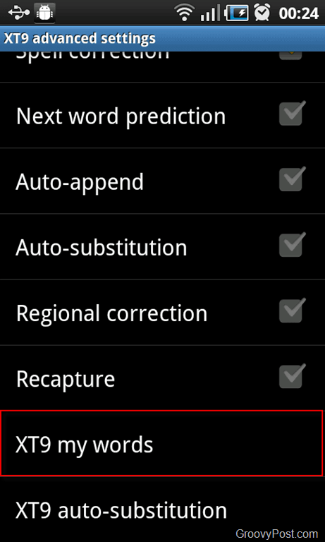 how to delete words from word dictionary 2010