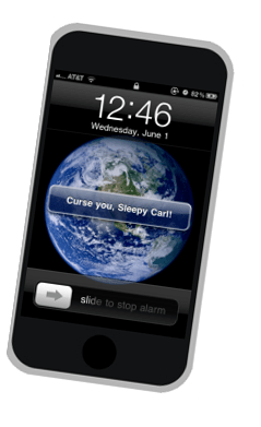 Change iPhone alarm label/disable iphone snooze