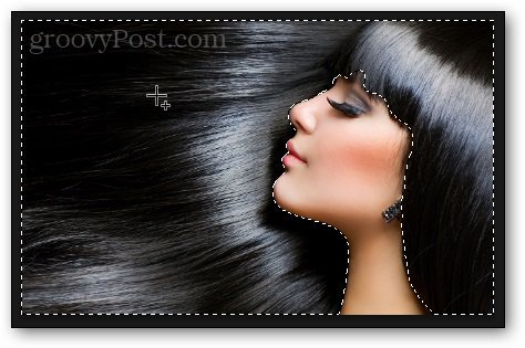 selection photoshop tutorial hair
