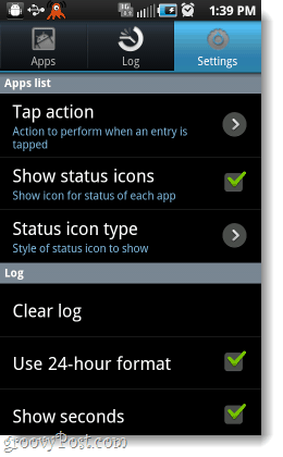 adjust android superuser settings