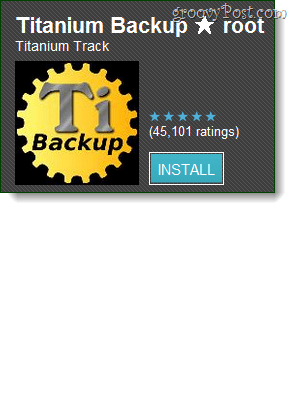 titanium backup for root users on android