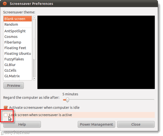 How to Disable The Screen Password Lock in Ubuntu