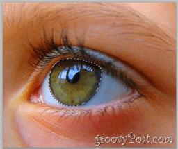 Adobe Photoshop Basics - Human Eye select entire eye layer