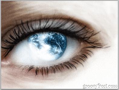 Adobe Photoshop Basics - Human Eye filter over exposure