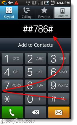 dial the rtn code
