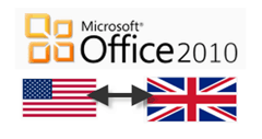 switch between u.k. and u.s. english in office