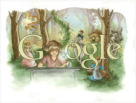 Illustration google doodle