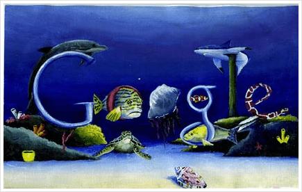 The majestic sea google doodle