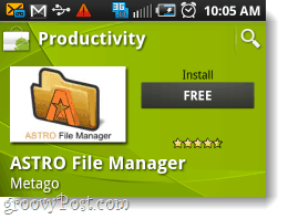 Astro file manager free install