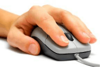Set up your computer for a left-handed mouse user