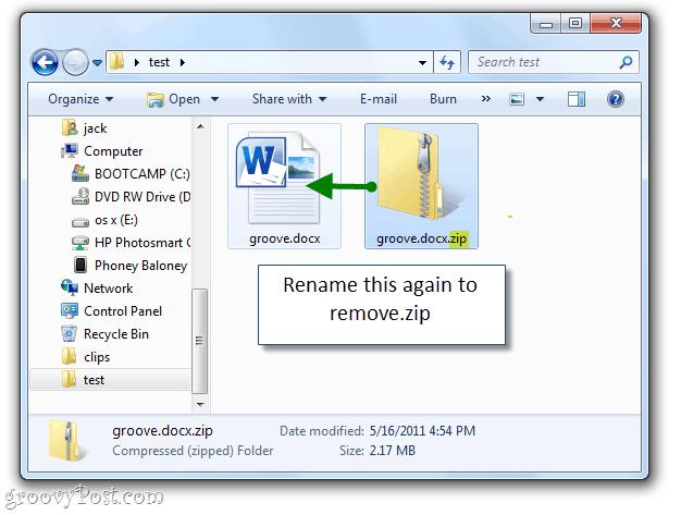 create a new .docx