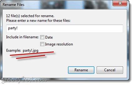 renaming multiple files in picasa